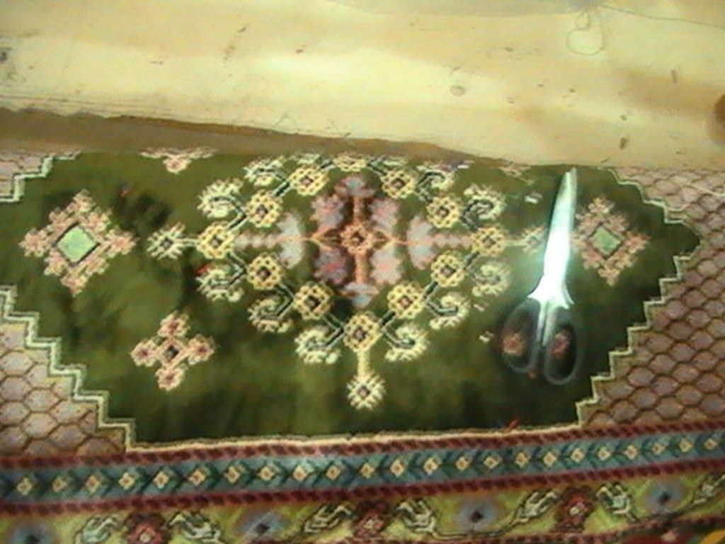 Bild Teppich Handgeknüpft zu Teppich in Mahdia