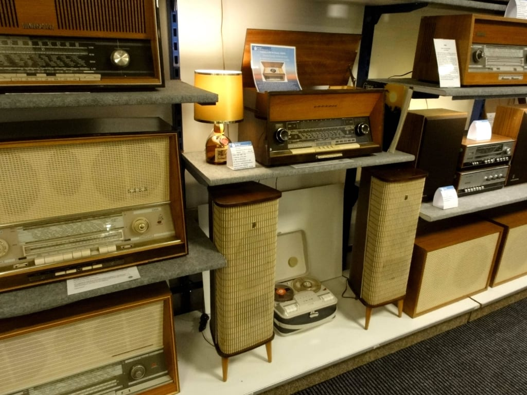 Bild Musik Ensemble Für Das Wohnzimmer Zu Bremer Rundfunkmuseum In