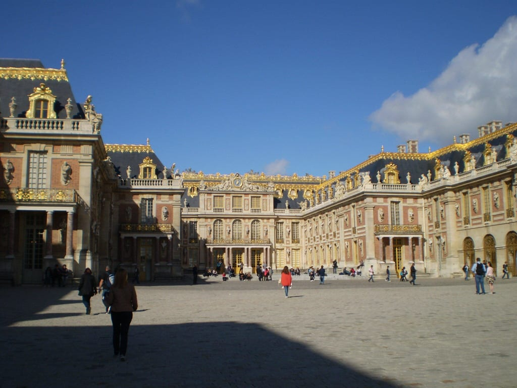 bild schloss versailles zu schlo versailles in versailles. Black Bedroom Furniture Sets. Home Design Ideas