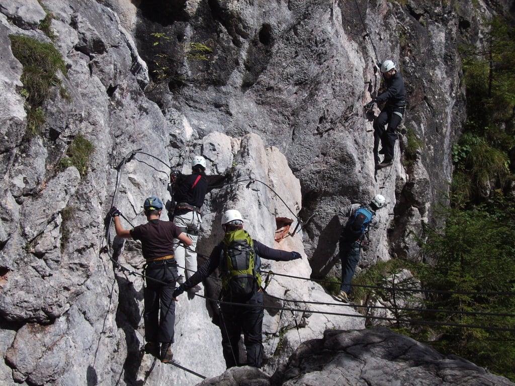 Klettersteig Ramsau : Österreichischer kinderklettersteig mamilade ausflugsziele