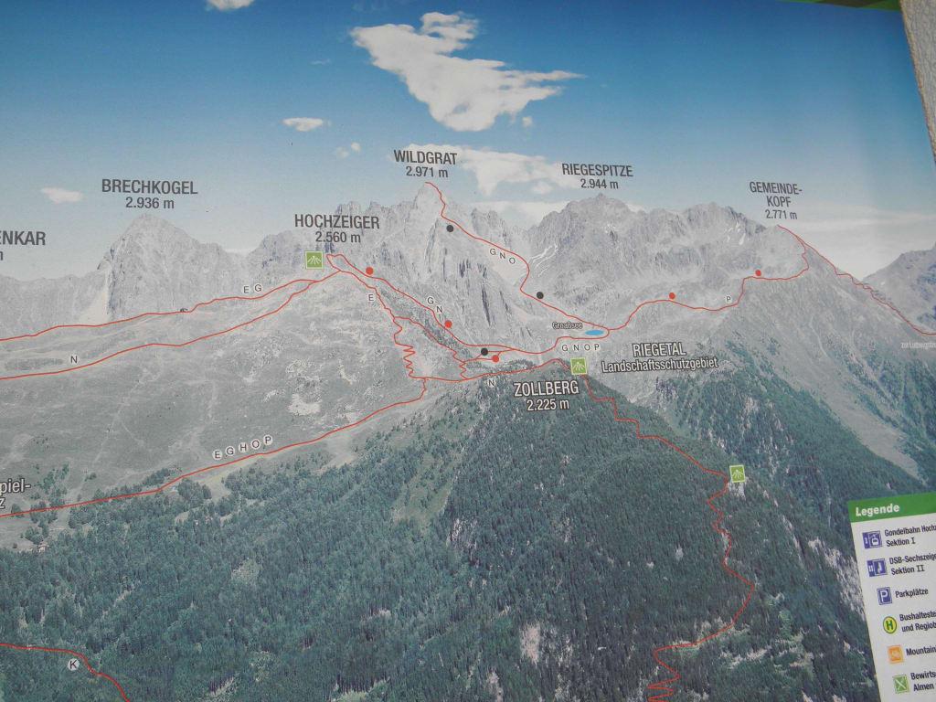 Pitztal Karte.Bild Karte Zu Wandern Pitztal Jerzens In Jerzens