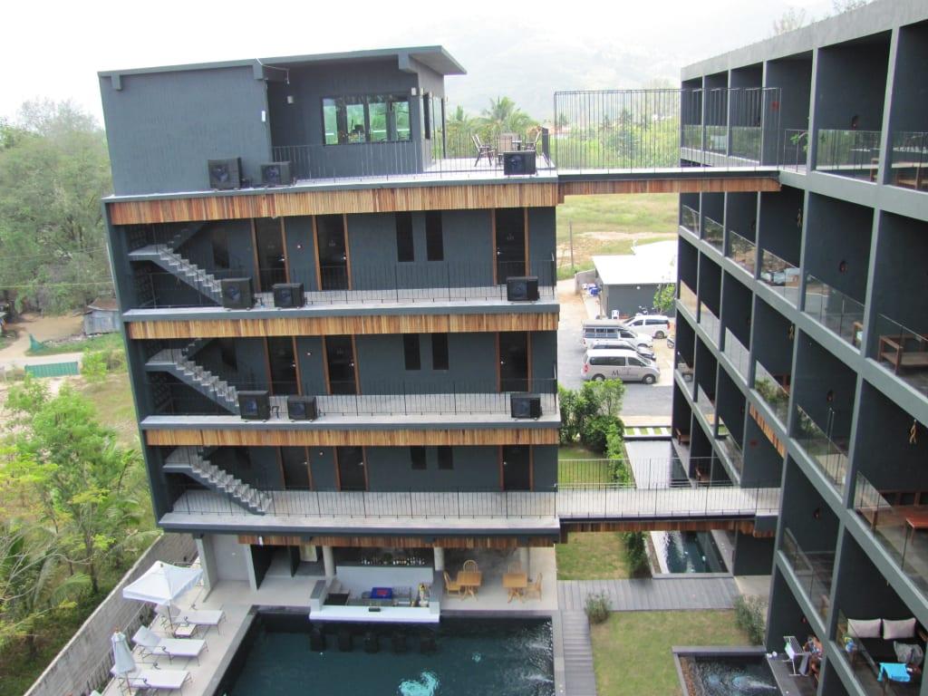 Bild stylische architektur zu the waters khao lak by for Stylische wellnesshotels