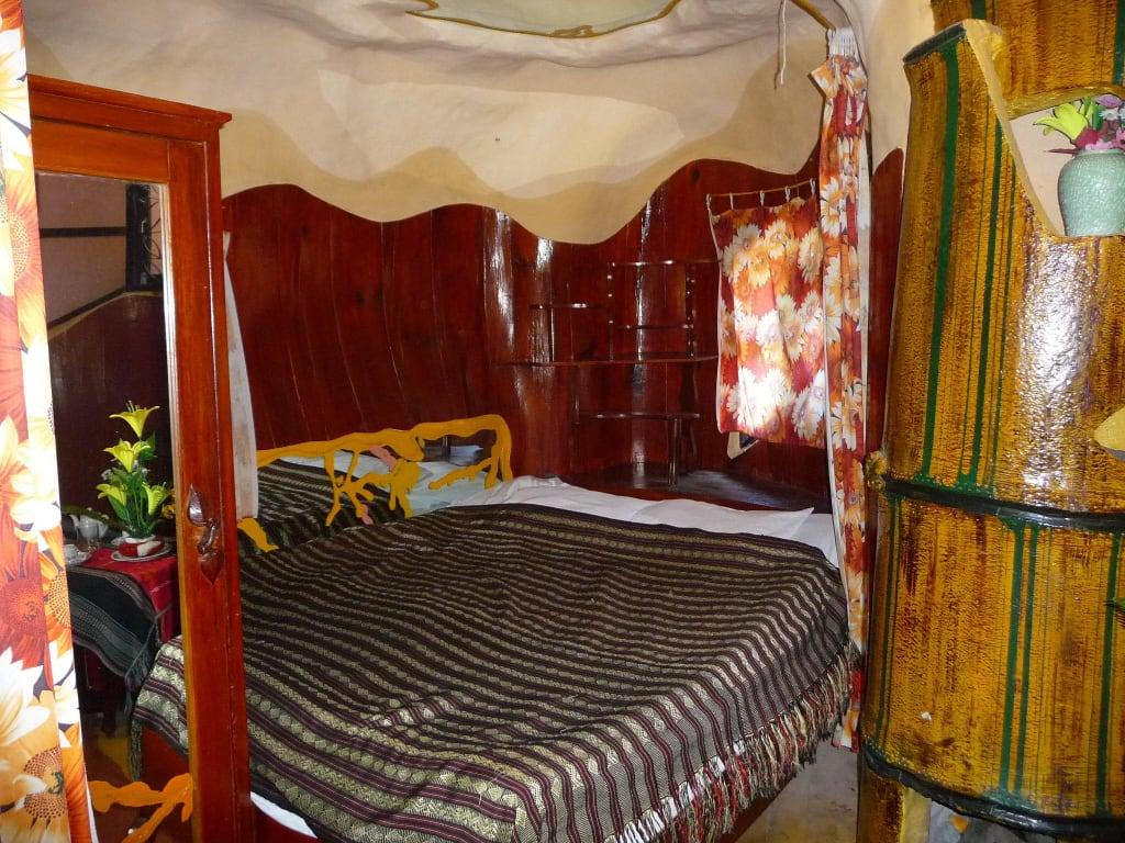 Bild Das Bambus Zimmer Zu Hang Nga Haus Crazy House In Dalat