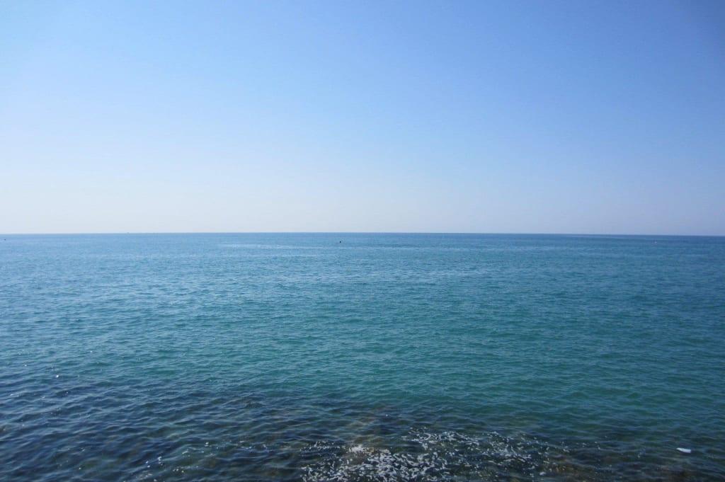 Bild Weites Meer Zu Strand Evrenseki In Evrenseki