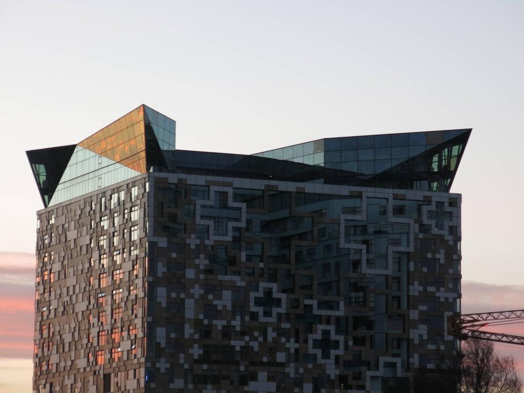 Bild Moderne Architektur Zu Zentrum Birmingham In