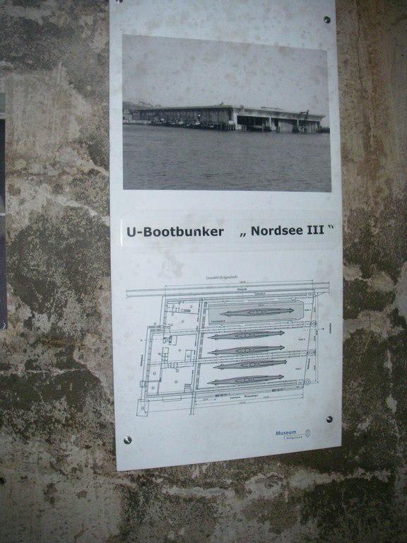 """Foto von U-Bootbunker """"Nordsee III"""" Bilder Sonstige Sehenswürdigkeit Bunkerführung"""