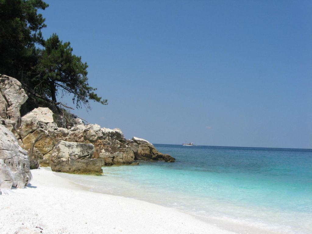 Marmor strand thassos