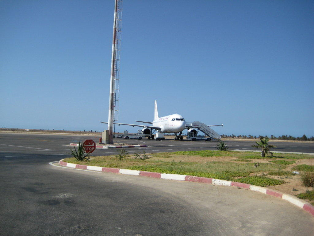 Flughafen Djerba Ankunft
