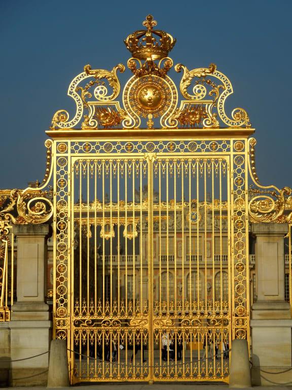 """17 Jahrhundert Bild Architektur: Bild """"Prachtvolles Tor"""" Zu Schloß Versailles In Versailles"""