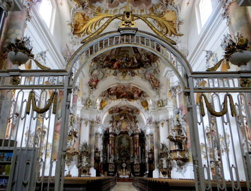 Inneres der Basilika Bilder Burg/Palast/Schloss/Ruine Basilika Ottobeuren