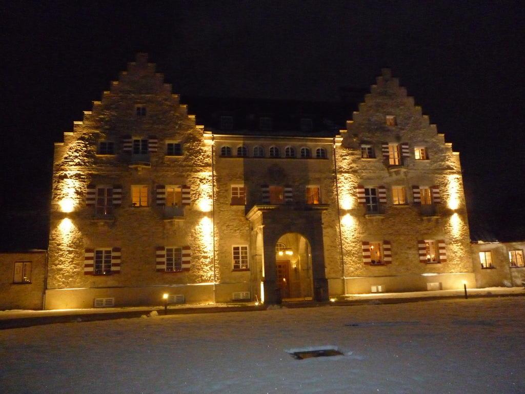 bild das kranzbach bei nacht zu hotel das kranzbach in. Black Bedroom Furniture Sets. Home Design Ideas