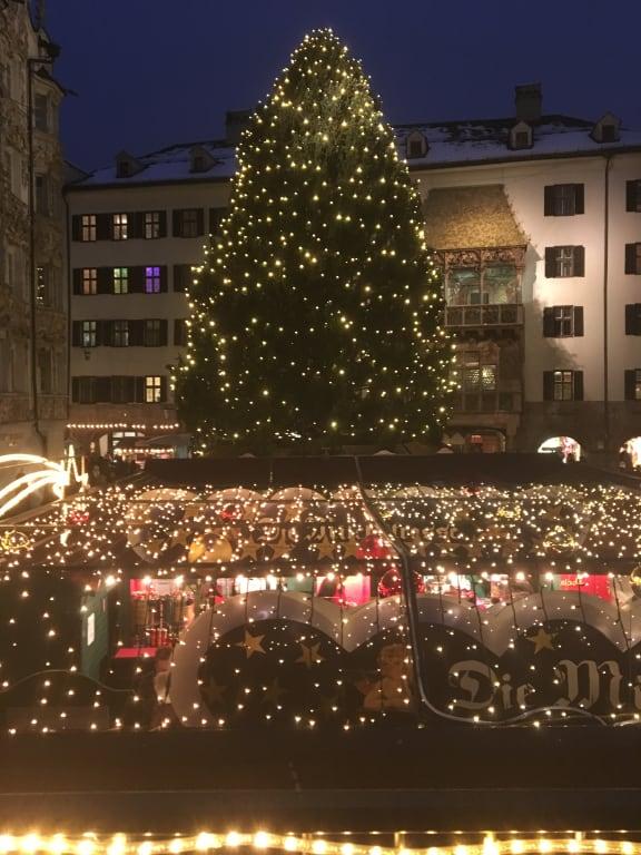 Bild Innsbruck Weihnachtsmarkt Zu Christkindlmarkt