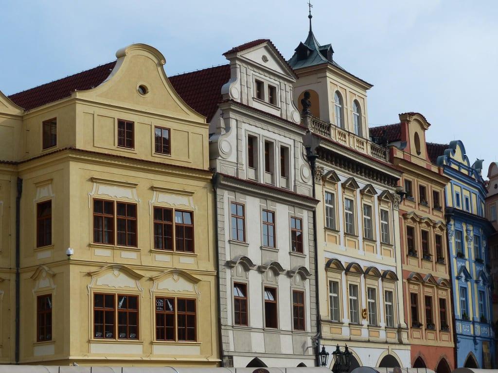 Haus Fassaden bild sehenswerte hausfassaden zu altstadt prag in prag praha