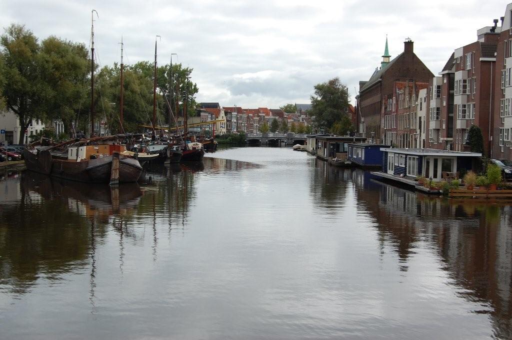 Die Grachten von Leiden Bilder Stadt/Ort Altstadt Leiden