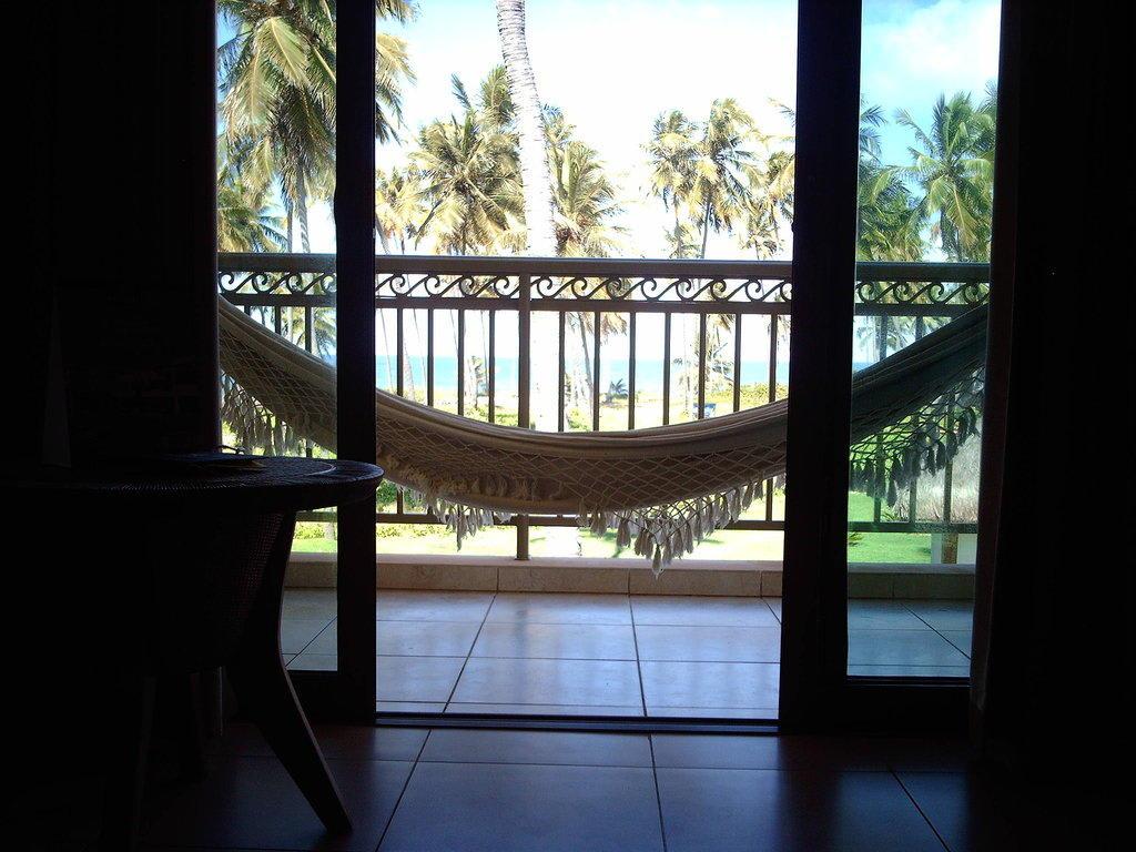 bild juniorsuite balkon h ngematte zu iberostar hotel. Black Bedroom Furniture Sets. Home Design Ideas
