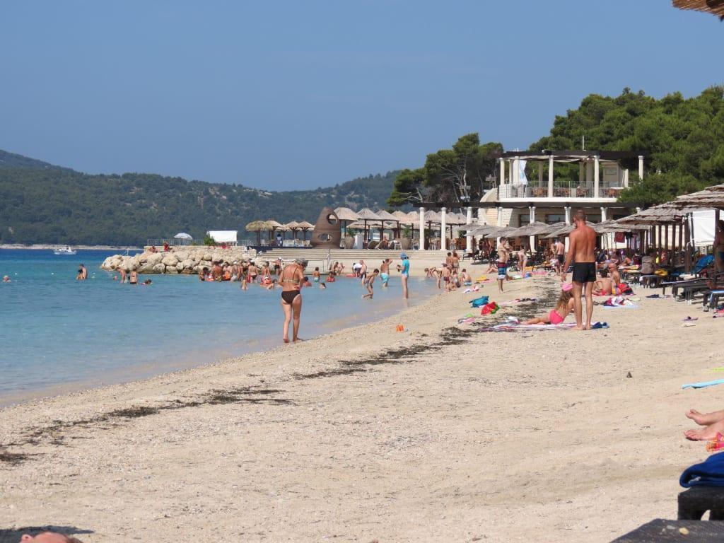 chorwacja kwatery wyspa rab rajska plaża grecja hotele