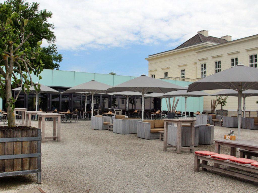 """bild """"terrasse"""" zu schlossküche herrenhausen in hannover"""