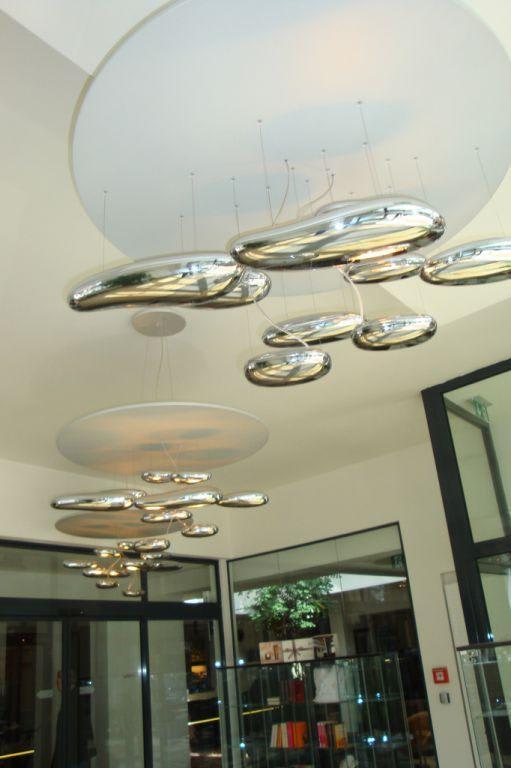 Bild tolle lampen im eingangsbereich zu alpen for Tolle lampen
