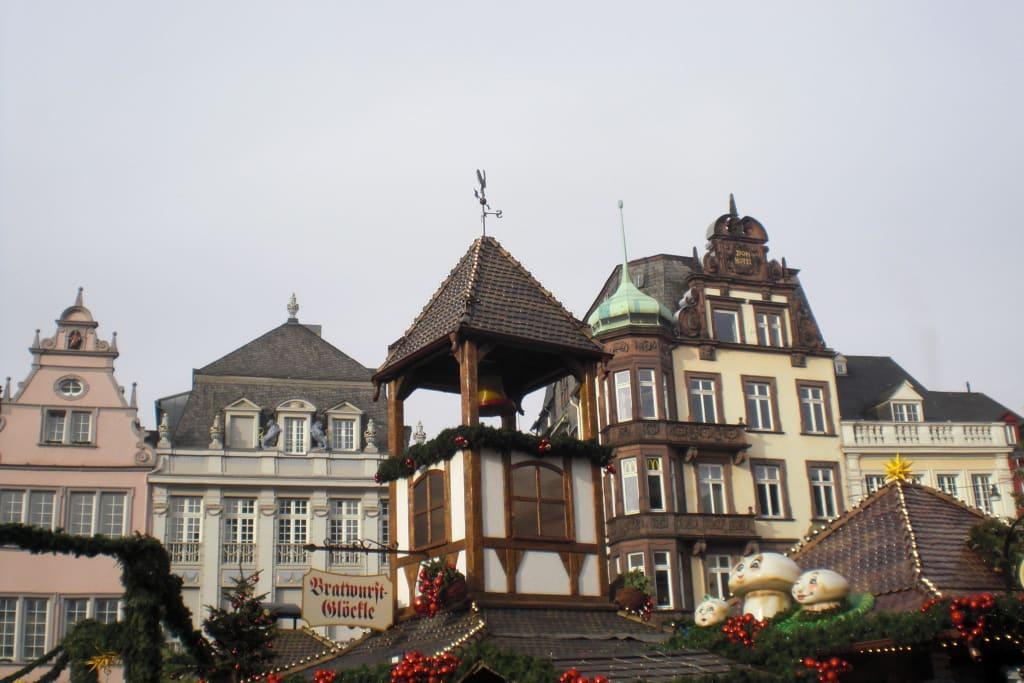 Weihnachtsmarkt In Trier.Bild Weihnachtsmarkt Trier Zu Weihnachtsmarkt Trier In Trier