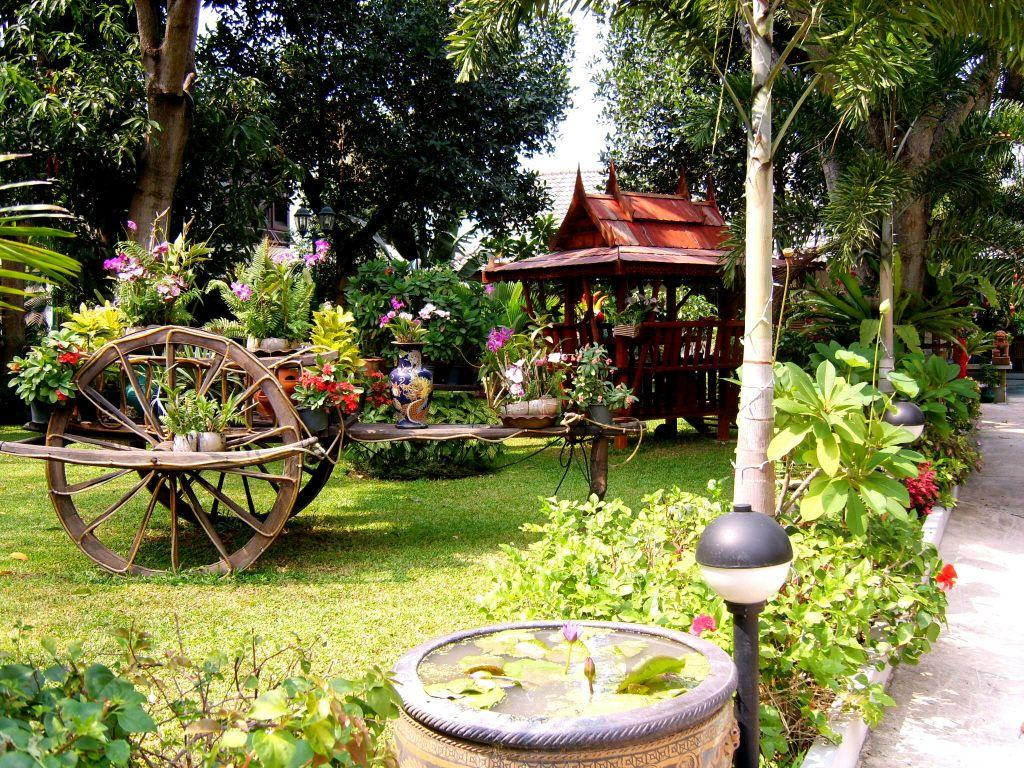Wunderschöne Gärten bild schöne gärten zu pattaya in pattaya