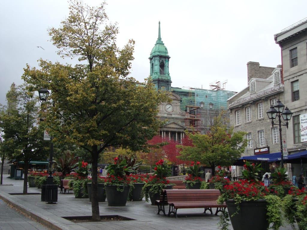 Place Jacques-Cartier and the Hôtel de Ville