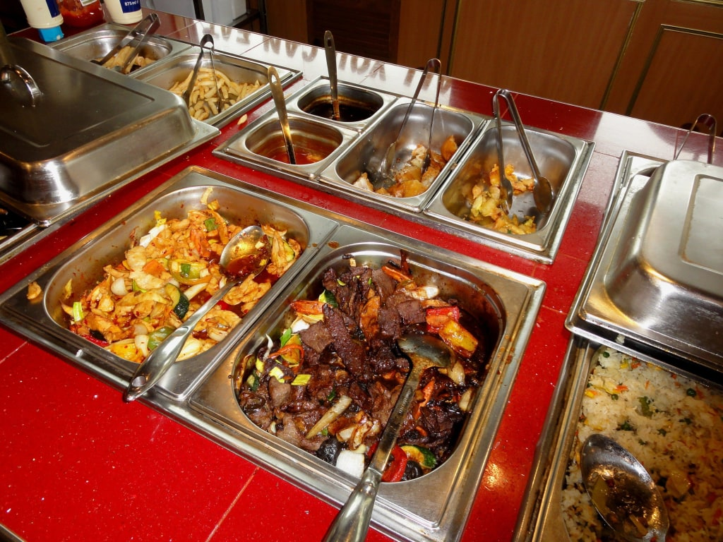Bild Details Vom Büffet Zu Tokyo Running Sushi Restaurant Bar In
