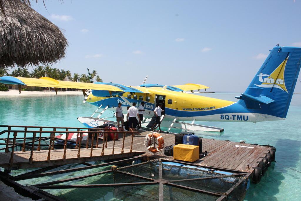 Anantara Veli Resort Spa Overwater Bungalow