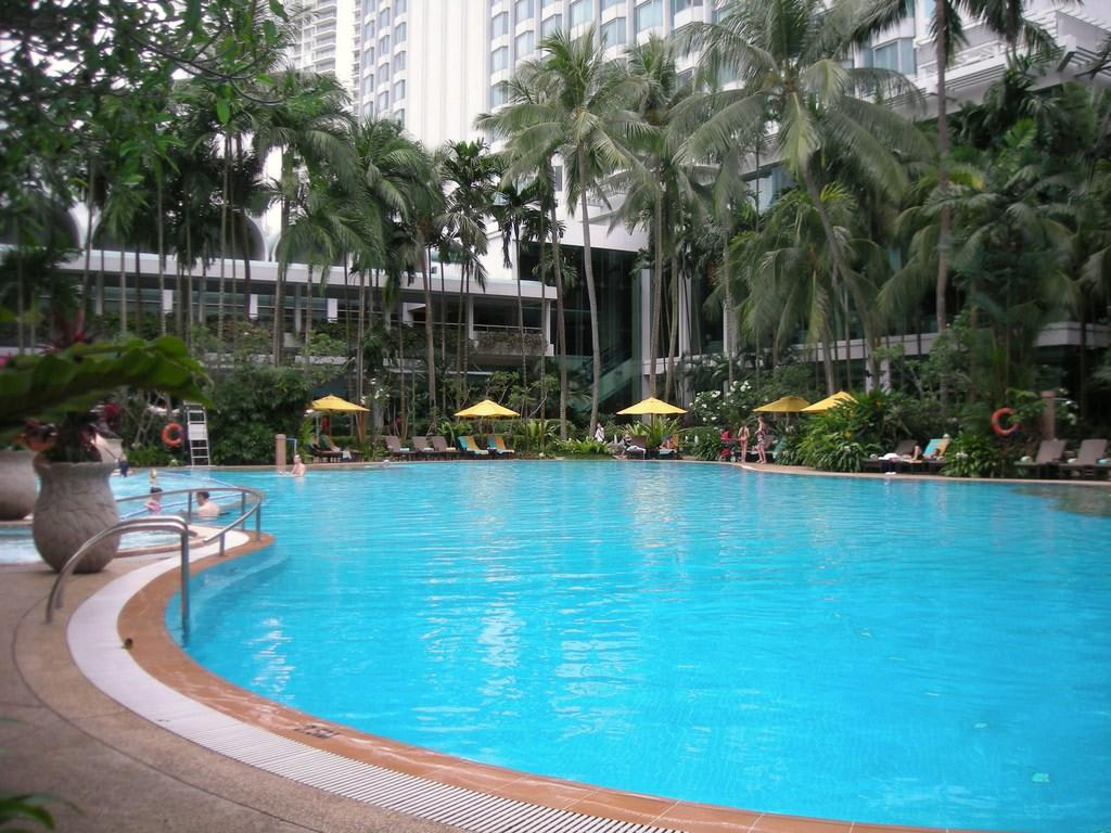 Bild Pool Zu Hotel Shangri La Singapore In Singapur
