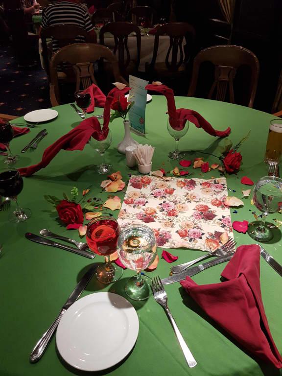 Bild Geburtstagstisch Deko Zu Grand Rose In