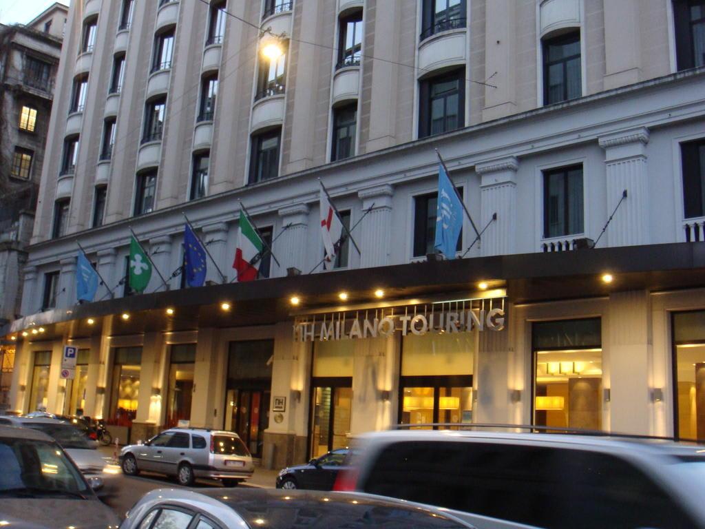 Bild au enansicht des hotels zu nh milano touring in mailand for Nh hotel milano