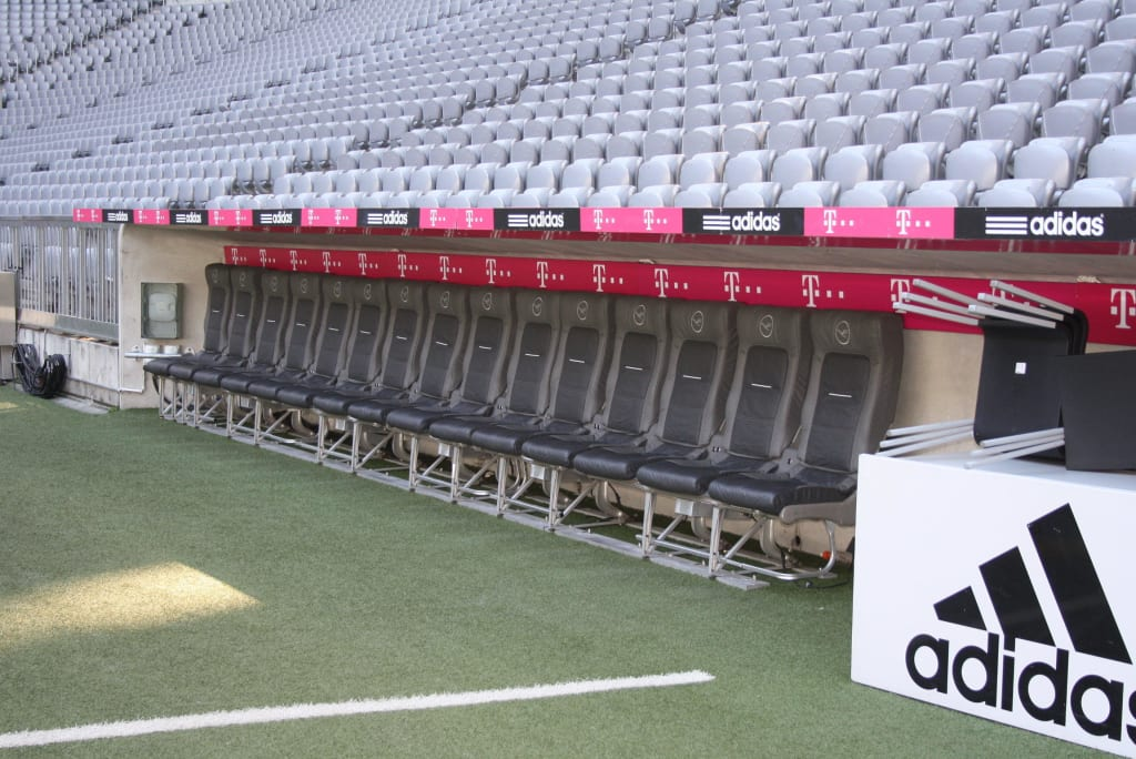 Allianz Arena Trainerbank