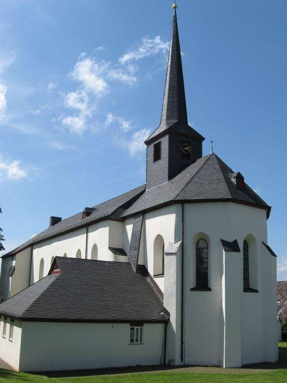 bild pfarrkirche st katharina zu stadt blankenberg in hennef. Black Bedroom Furniture Sets. Home Design Ideas