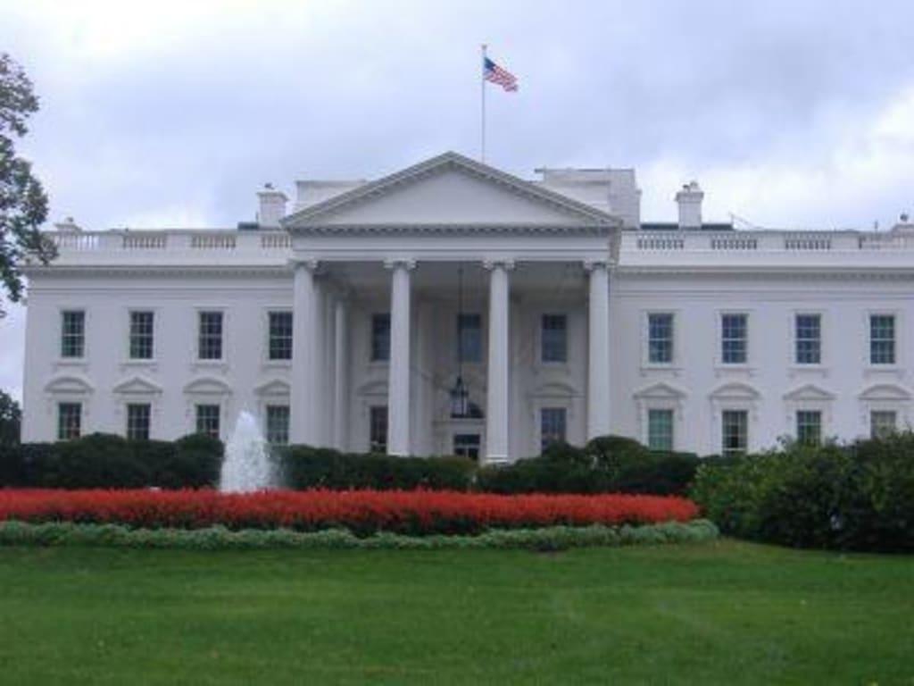bild das wei e haus zu wei es haus white house in washington d c. Black Bedroom Furniture Sets. Home Design Ideas