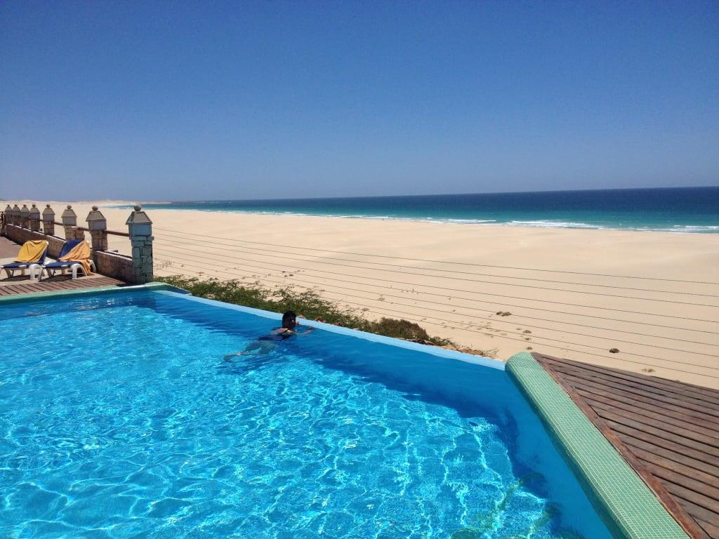 Bild kleiner pool zu iberostar club boa vista in sal rei for Kleiner pool