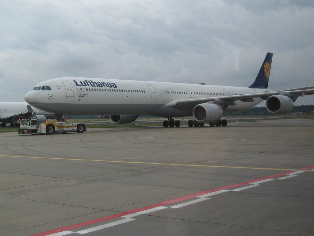 Frankfurt Flugzeug