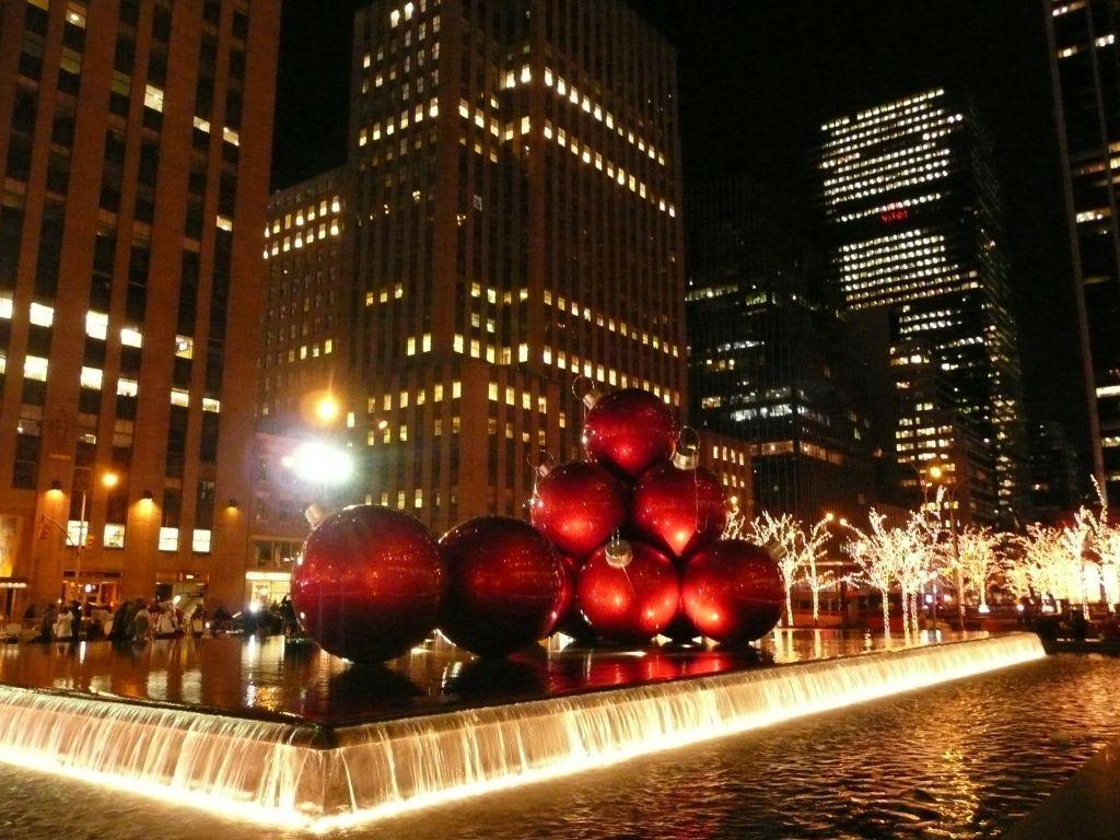 Weihnachtsbilder New York.Bild Weihnachten In Ny Zu New York Manhattan In New York Manhattan