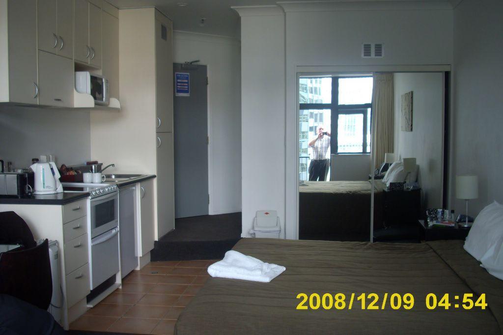 """Bild """"Einraum-Appartement"""" zu Quest on Terrace Apartment in Wellington"""