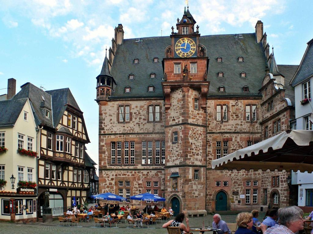 Town Hall Marburg Germany Cities Towns Villages