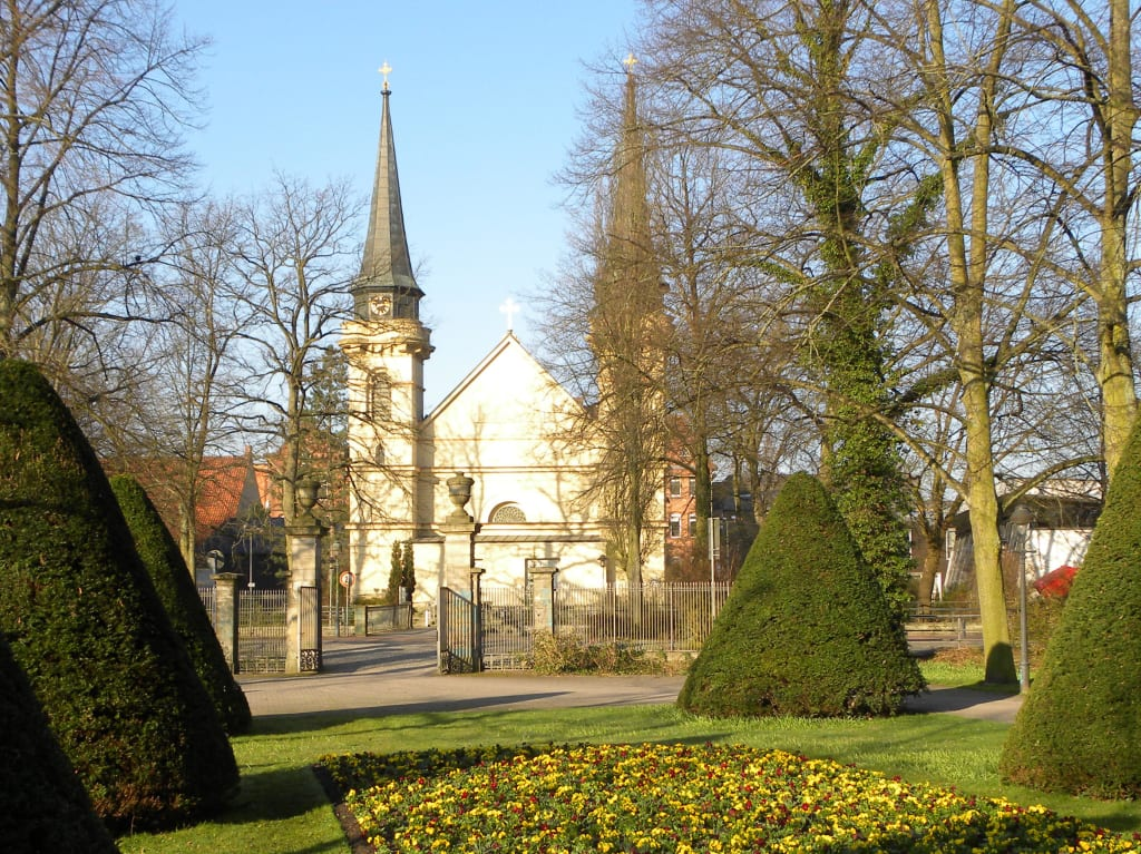 Bild Französischer Garten Celle Zu Französischer Garten In Celle