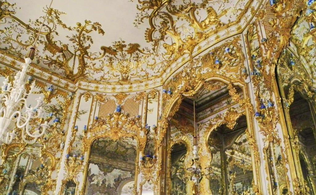 Bild Decke Des Spiegelsaals Zu Residenzmuseum In München