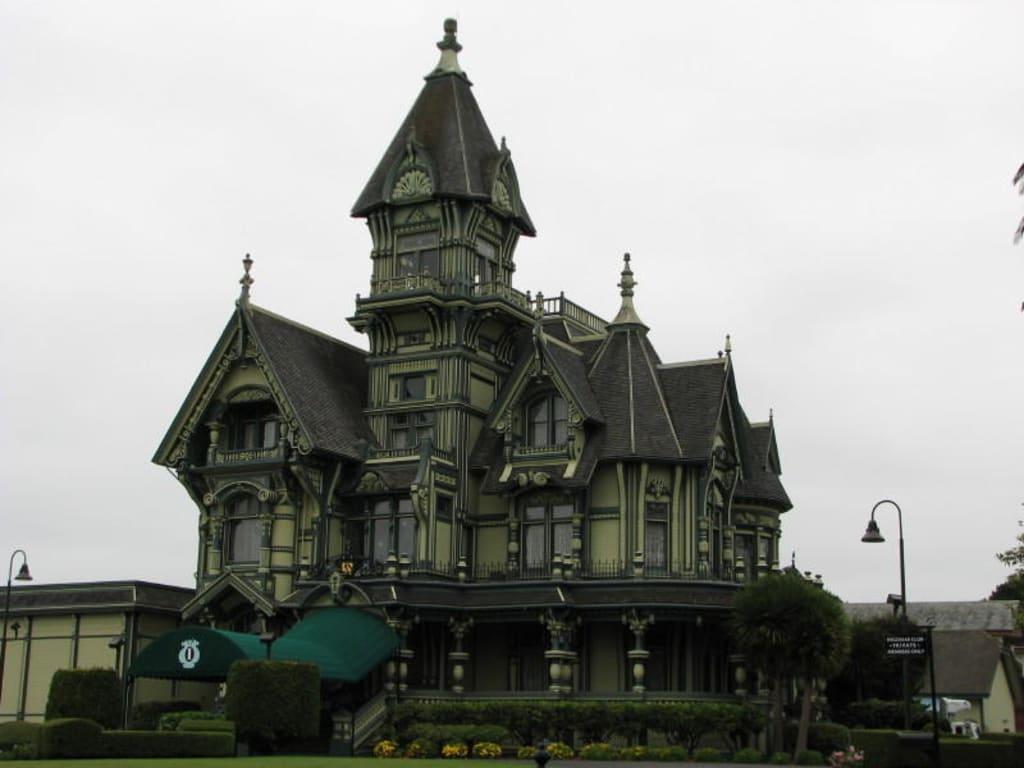 Bild carson mansion house zu viktorianische geb ude in for Viktorianisches haus