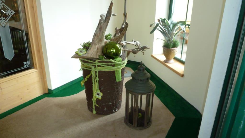 Dekorationsideen Eingangsbereich Herbilgi