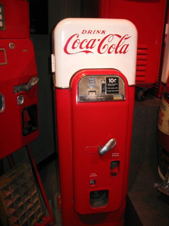 alte cola automaten