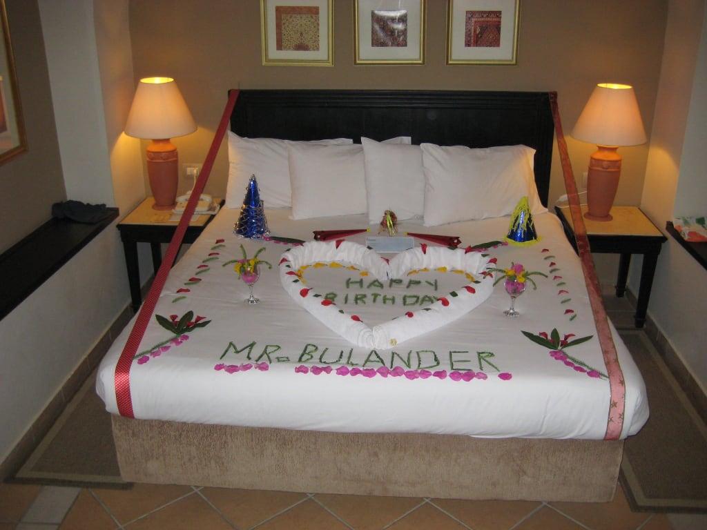 bild geburtstags berraschung zu hotel iberotel coraya beach in marsa alam. Black Bedroom Furniture Sets. Home Design Ideas