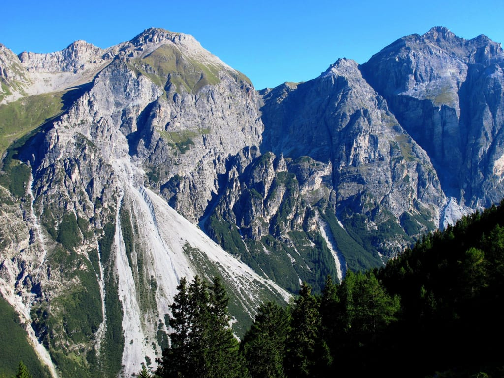 Panoramaweg Pinnistal - Hammerspitze (2634 m) Bilder Berg/Vulkan/Gebirge Panoramaweg Pinnistal