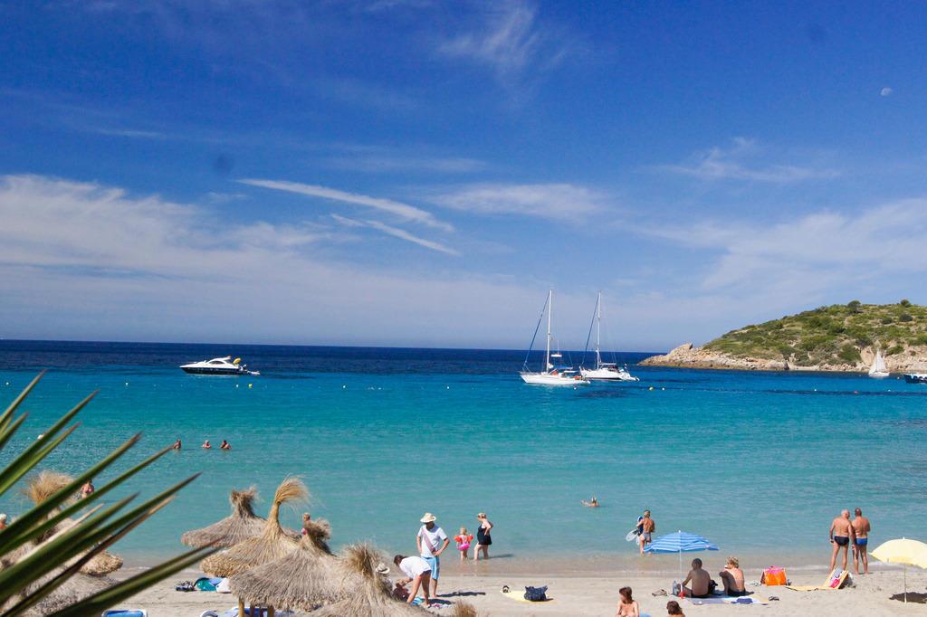 Bild Quot Bucht Von Sant Elm Quot Zu Strand San Telmo In Sant Elm