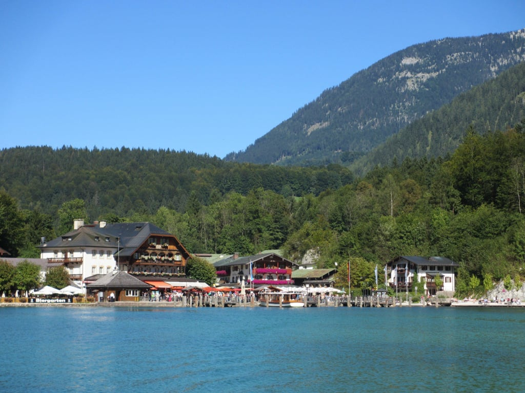 Bild Quot Hafen Sch 246 Nau Am K 246 Nigssee Quot Zu K 246 Nigssee In Sch 246 Nau