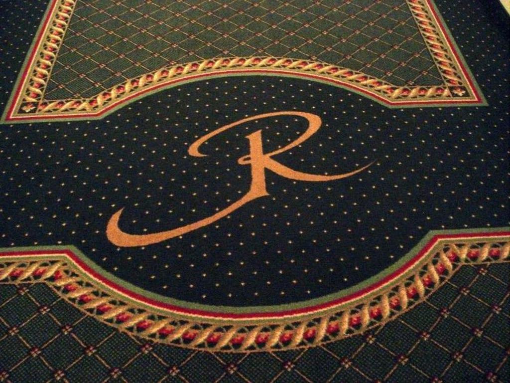 Bild Teppich mit eigenem Logo zu Hotel Riederin in Bodenmais