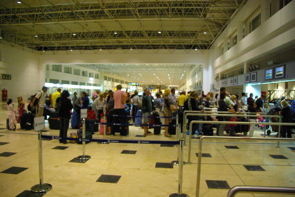Antalya Flughafen Ankunft Heute