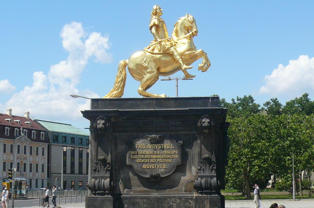Der Goldene Reiter Dresden Der Goldene Reiter